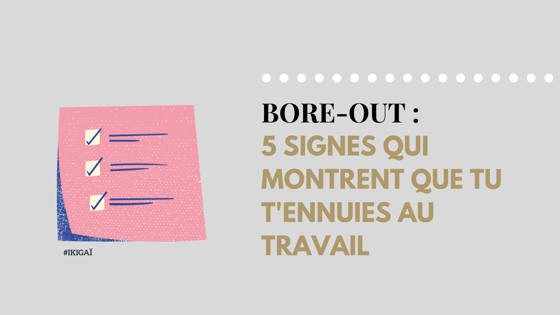 Bore out : 5 signes que tu t'ennuies au travail